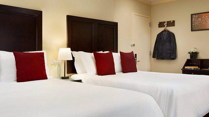 Deluxe Two Queen room of WJ Hotel Newyork